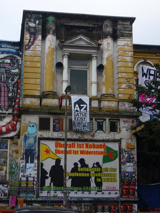 Solidarische Grüße aus Hamburg
